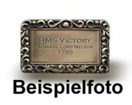 Messingschild HMS Fly