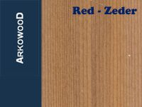 Holzleisten Red-Zeder 1,0 x 5,0 x 1000 mm
