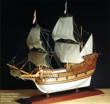 Bauplan Mayflower 1:60